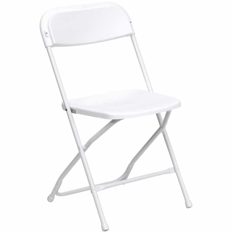 beige folding Chair $1.50
